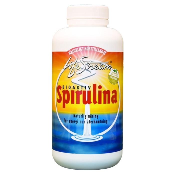 Lifestream Spirulina, ferskvannsalge tabletter