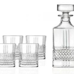 Lyngby Glass Whiskysett Brillante 5 deler