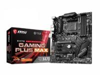 MSI X470 GAMING PLUS MAX - Hovedkort - ATX - Socket AM4 - AMD X470 - USB 3.2 Gen 1, USB 3.2 Gen 2 - Gigabit LAN - innbygd grafikk (CPU kreves) - HD-lyd (8-kanalers)