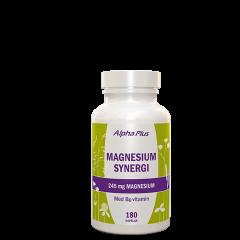 Magnesium Synergi, 180 kapsler