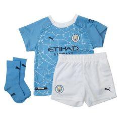 Manchester City Hjemmedrakt 2020/21 Mini-Kit Barn