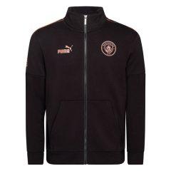 Manchester City Treningsjakke FtblCulture - Sort/Brun Barn