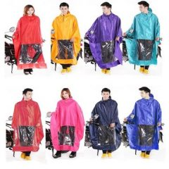 Motorcycle Scooter Electric Bike Double Raincoat