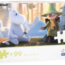 Mummitrollet Puslespill Moominvalley 99 Brikker