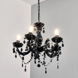 Mysteriøs lysekrone Arabesque, svart