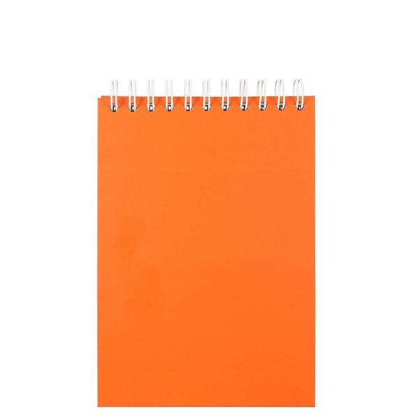 Notatblokk A5 m/toppspiral Linjert Oransje