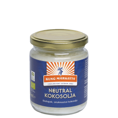 Nøytral kokosolje ØKO, 216 ml