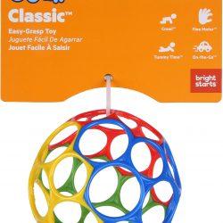 Oball Classic Bold Ball, Rød, Blå, Grønn og Gul