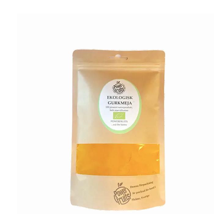 Økologisk Gurkemei RAW, 250 g