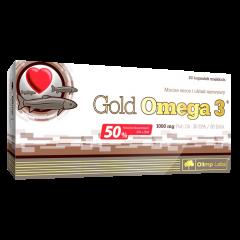 Omega 3 Gold, 1000 mg, 60 kapsler