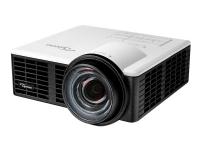 Optoma ML1050ST - DLP-projektor - LED - 3D - 1000 lumen - WXGA (1280 x 800) - 16:10 - kortkast fast linse