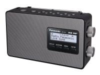Panasonic-RF-D10EG - Bærbar DAB-radio - 2 watt - svart