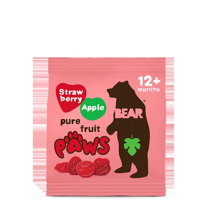 Paws Jordbær & Eple, 20g