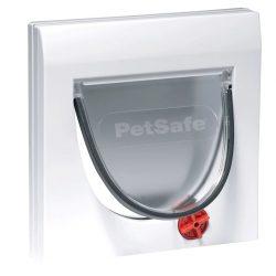 PetSafe Manuell 4-veis katteluke uten tunnel Classic 919 hvit 5031