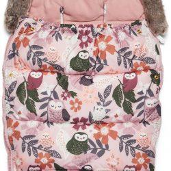 Petite Chérie Winter Owl Vognpose, Rosa