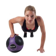 Pure2Improve Medisinball 10 kg lilla