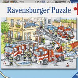 Puslespill 2X24 Helter På Jobb Ravensburger