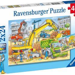 Ravensburger Puslespill Arbeidsbiler 2x24 Biter