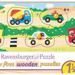 Ravensburger Puslespill Mine Første Kjøretøy 5 Biter