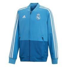 Real Madrid Jakke Presentation - Blå/Hvit Barn