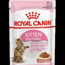 Royal Canin Kitten Sterilised Gravy, 12 x 85g