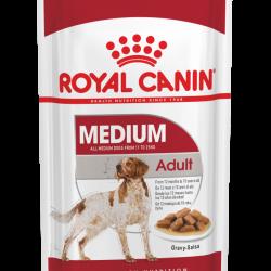 Royal Canin Medium Adult Våtfôr 10 x 140g