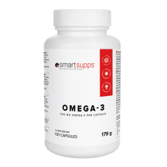 SmartSupps Omega-3, 130 kapsler