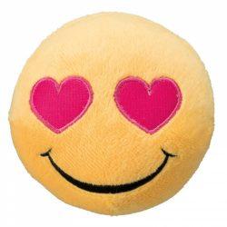 Smiley hundeleke 9cm - Hjerteøyne