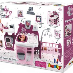 Smoby Dukke Baby Nurse Lekesett