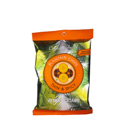 Spicy Banana Chips, 85 g
