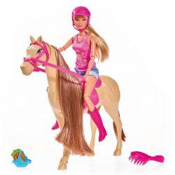 Steffi Love Dukke Med Hest + Tilbehør