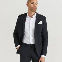 Studio Total Dressjakke Tyler Blazer Svart