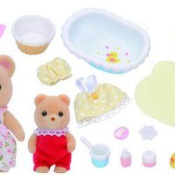 Sylvanian Families Figurer Baby Bath Time