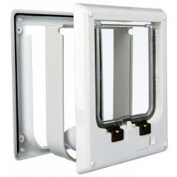 TRIXIE Elektromagnetisk katteluke 4-veis 21,1x24,4 cm hvit 3869