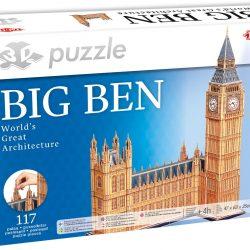 Tactic Puslespill 3D Puzzle Big Ben