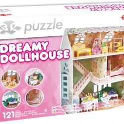 Tactic Puslespill 3D Puzzle Dukkehus