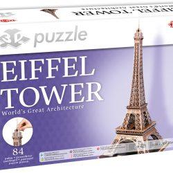 Tactic Puslespill 3D Puzzle Eiffeltårnet