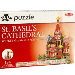 Tactic Puslespill 3D Puzzle St. Basil's Cathedral