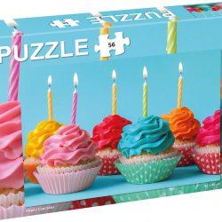 Tactic Pussel Cupcakes 56 Deler