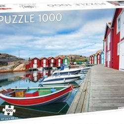 Tactic - Puzzle 1000 pc - Fishing huts in Smögen