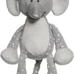 Teddykompaniet Diinglisar Organic Stars Spilledåse, Elefant