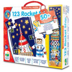 The Learning Journey Puslespill Long And Tall 123 Rocket Ship
