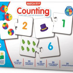 The Learning Journey Puslespill Match It Counting