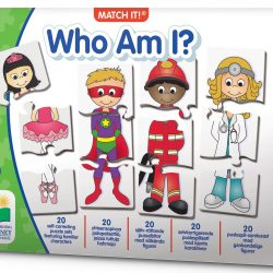 The Learning Journey Puslespill Match It Who Am I