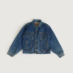 Vintage by Stayhard Jakke Boss Denim Jacket (90s) Blå