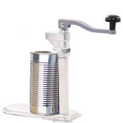 vidaXL Boksåpner sølv 70 cm aluminium og rustfritt stål