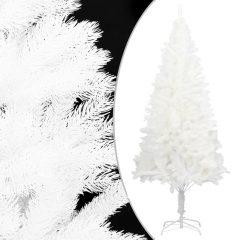 vidaXL Kunstig juletre med stativ hvit 150 cm PE