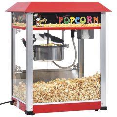vidaXL Popcornmaskin med teflonbelagt kjele 1400 W