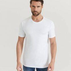BOSS 2-Pk T-shirts Round Neck T-shirt Hvit