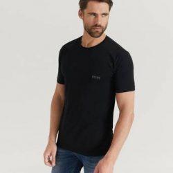 BOSS 2-Pk T-shirts Round Neck T-shirt Svart